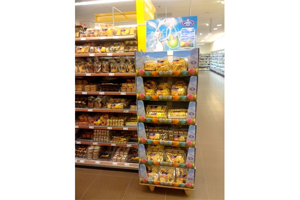 Winkel display Pasen