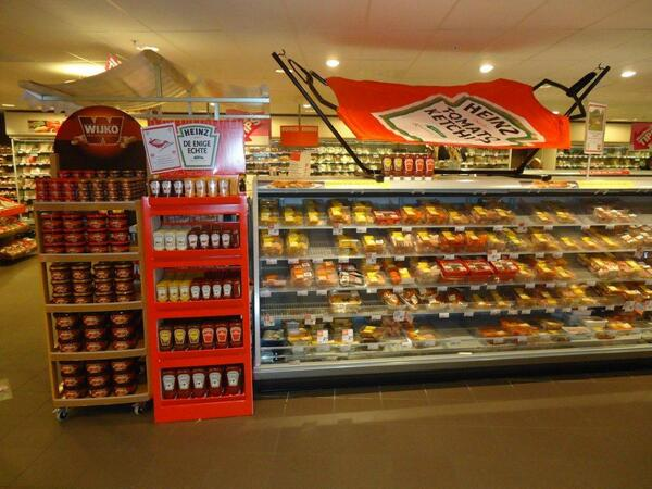 Winkel display Heinz
